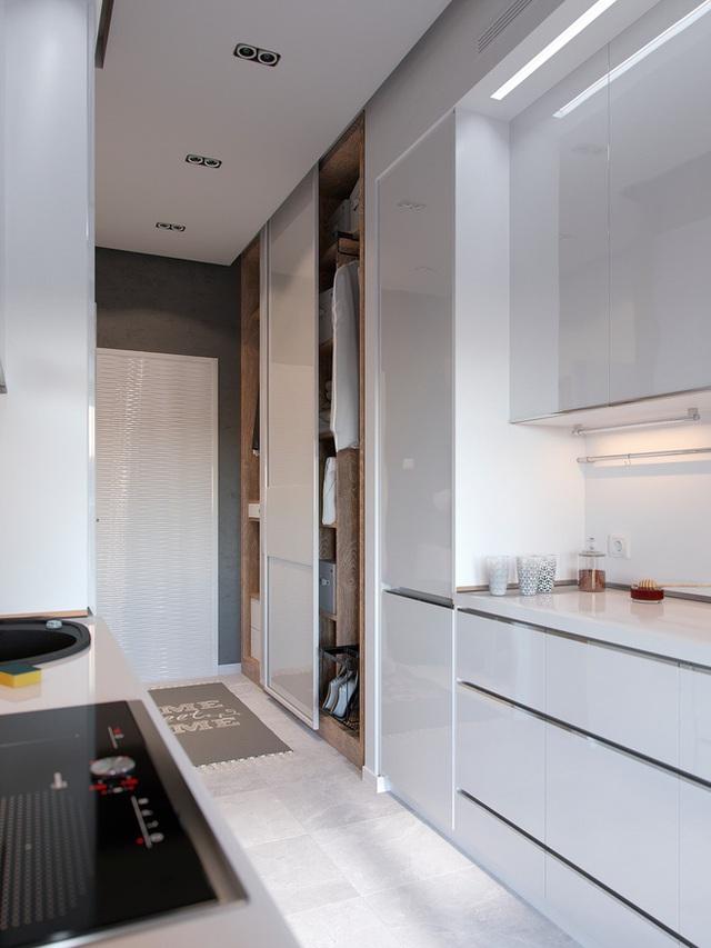 Ấn tượng với thiết kế của căn hộ vỏn vẹn 30m² có những gam màu trang trí vô cùng bắt mắt - Ảnh 9.