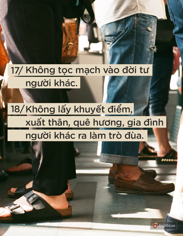 Để được người khác yêu quý và tôn trọng không khó, nếu bạn luôn nhớ 24 quy tắc ứng xử cơ bản này - Ảnh 9.