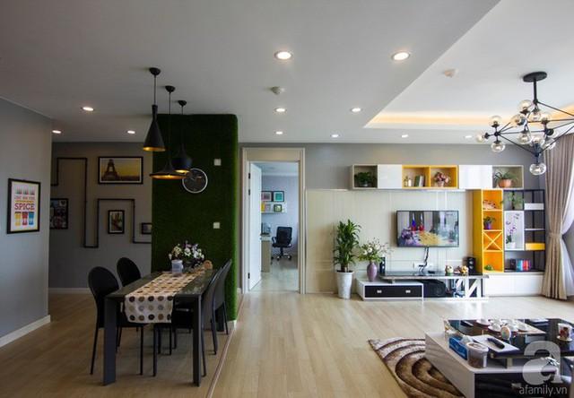 Căn hộ 83m² thoáng mát và ấn tượng với chi phí thi công 100 triệu đồng ở Hà Nội - Ảnh 9.