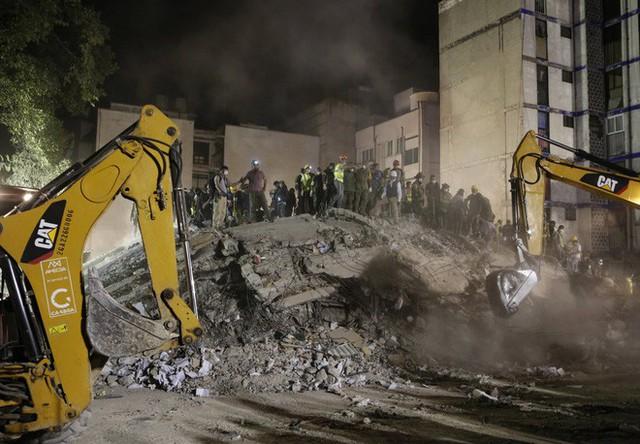 13 bức ảnh lột tả những thảm họa mà nhân loại phải gánh chịu trong năm 2017 - Ảnh 9.