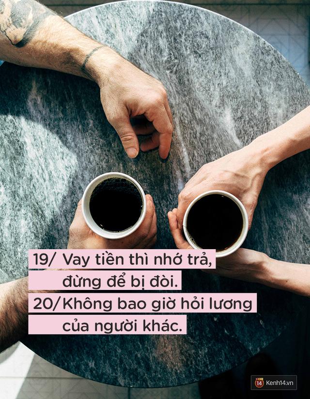 Để được người khác yêu quý và tôn trọng không khó, nếu bạn luôn nhớ 24 quy tắc ứng xử cơ bản này - Ảnh 10.