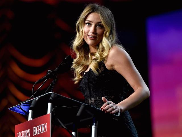Amber Heard, từng là vợ cũ của diễn viên điện ảnh Johnny Depp