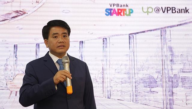 Chủ tịch UBND thành phố Hà Nội Nguyễn Đức Chung. Ảnh: Kinh tế đô thị.