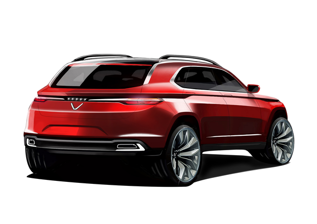 Cận cảnh 20 mẫu xe VINFAST được thiết kế riêng bởi 4 studio lừng danh thế giới: Lấy cảm hứng từ con người Việt, đẹp không thua Tesla, Audi, BMW... - Ảnh 8.