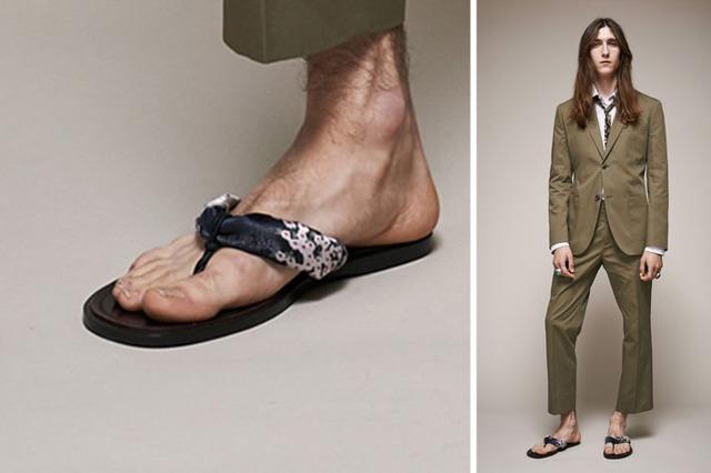 Một shoot hình thời trang nằm trong bộ sưu tập suit của nhà thiết kế Marc Jacobs