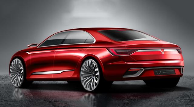 Cận cảnh 20 mẫu xe VINFAST được thiết kế riêng bởi 4 studio lừng danh thế giới: Lấy cảm hứng từ con người Việt, đẹp không thua Tesla, Audi, BMW... - Ảnh 16.