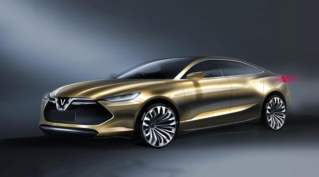 Cận cảnh 20 mẫu xe VINFAST được thiết kế riêng bởi 4 studio lừng danh thế giới: Lấy cảm hứng từ con người Việt, đẹp không thua Tesla, Audi, BMW... - Ảnh 10.