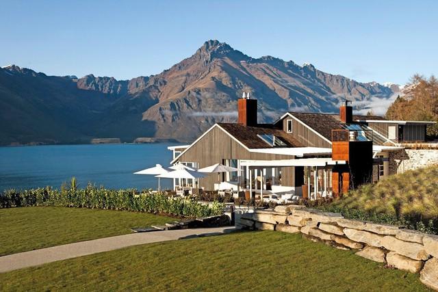 Điểm dừng chân cuối cùng là Matakauri Lodge, cạnh hồ Wakatipu.