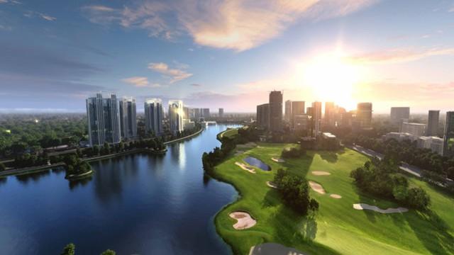 Trên thế giới, sân golf chỉ được xây dựng ở những nơi xa khu dân cư, đất không canh tác được hoặc hiệu quả không cao (Ảnh minh họa/Internet)
