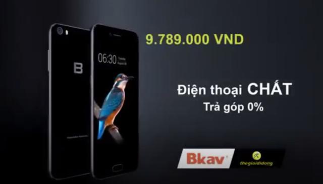 Thế Giới Di Động đồng hành cùng Bphone 2017 trong TVC quảng cáo mới