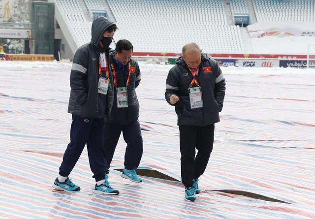 Thường Châu tuyết tan, U23 Việt Nam vẫn sẵn kế hoạch B - Ảnh 1.