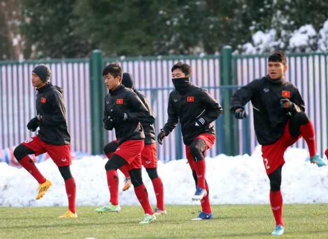 Thường Châu tuyết tan, U23 Việt Nam vẫn sẵn kế hoạch B - Ảnh 2.
