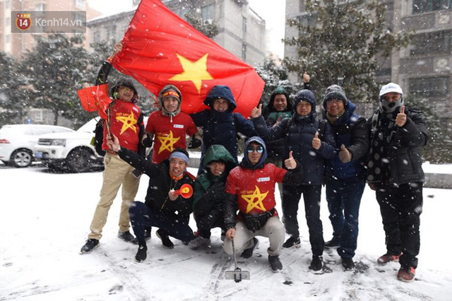 Tuyết rơi quá dày, 14h sẽ thông báo chính thức có hoãn chung kết U23 Việt Nam - U23 Uzbekistan hay không - Ảnh 1.