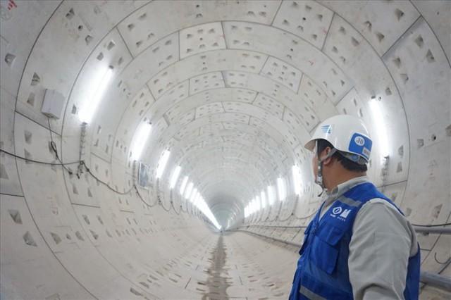 Thận trọng đào đường hầm thứ 2 tuyến metro Bến Thành - Suối Tiên - Ảnh 1.