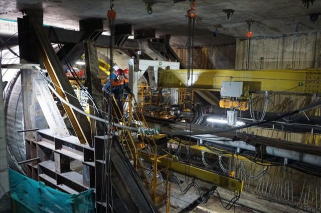 Thận trọng đào đường hầm thứ 2 tuyến metro Bến Thành - Suối Tiên - Ảnh 3.