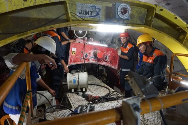 Thận trọng đào đường hầm thứ 2 tuyến metro Bến Thành - Suối Tiên - Ảnh 6.