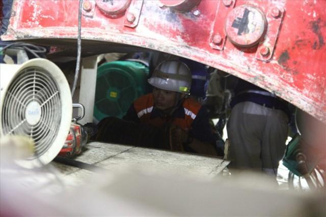 Thận trọng đào đường hầm thứ 2 tuyến metro Bến Thành - Suối Tiên - Ảnh 7.
