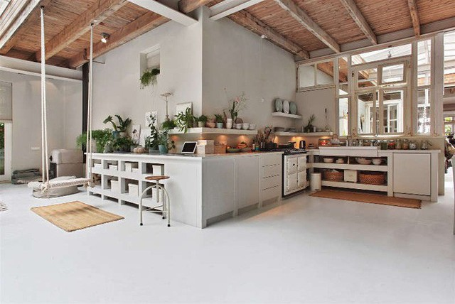 Ngôi nhà trắng đẹp như tranh vẽ với những góc nhà lung linh chẳng khác gì studio - Ảnh 11.