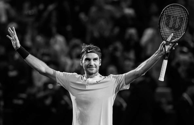 Roger Federer: Tượng đài vô địch bất chấp tuổi tác - Ảnh 8.