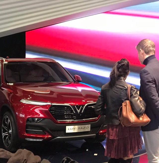 VinFast vừa công bố tên gọi 2 mẫu xe đầu tiên là LUX A2.0 và LUX SA2.0 - Ảnh 2.