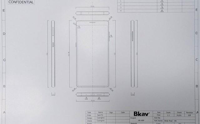 Đây là Bphone 3 có màn hình tràn đáy: Chiếc smartphone không cằm nhưng có trán thật là cao - Ảnh 1.