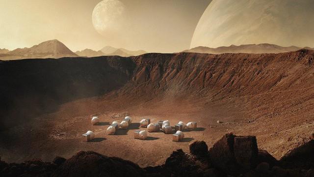 Bất động sản trên Sao Hoả: Ra mắt mẫu nhà mini đẹp lung linh giữa Hoả Tinh, báo hiệu ngày định cư không xa của loài người - Ảnh 3.
