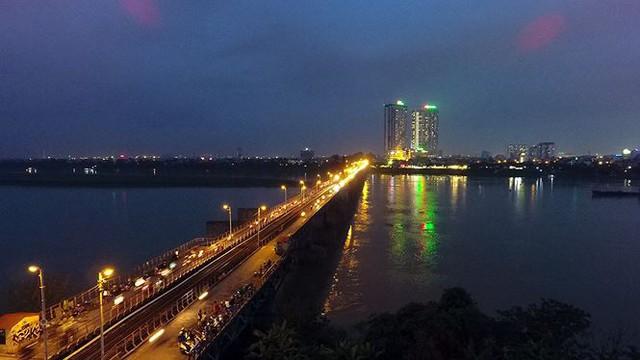 Vẻ đẹp rực rỡ của Hà Nội về đêm qua góc máy flycam Nhịp sống Thủ đô - Ảnh 7.