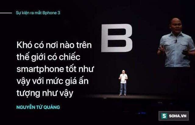 """Màn công bố Bphone 3 sẽ trọn vẹn hơn nếu CEO Nguyễn Tử Quảng không quá """"nổ""""? - Ảnh 3."""