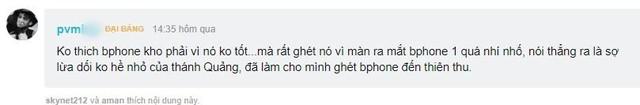 """Màn công bố Bphone 3 sẽ trọn vẹn hơn nếu CEO Nguyễn Tử Quảng không quá """"nổ""""? - Ảnh 5."""