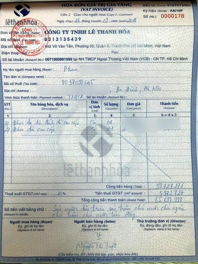 NTK Lê Thanh Hòa bức xúc vì doanh nghiệp Kerry Express làm thất lạc gói bưu phẩm trị giá hơn 65 triệu đồng, nhưng chỉ đền 320k - Ảnh 2.