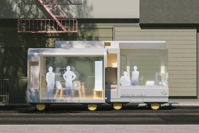 ikea - photo 1 1539483814938257990068 - IKEA thiết kế phương tiện tự lái kết hợp quán cafe, phòng ngủ và cả phòng họp phục vụ công việc