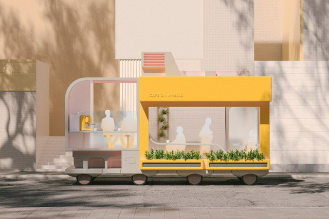 ikea - photo 1 1539483823981531539209 - IKEA thiết kế phương tiện tự lái kết hợp quán cafe, phòng ngủ và cả phòng họp phục vụ công việc
