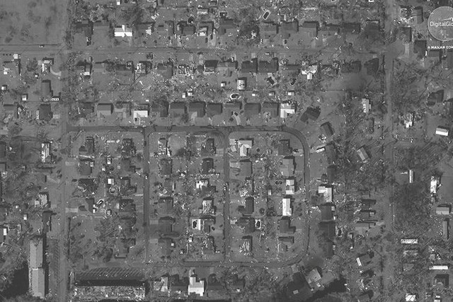 Cảnh tượng ám ảnh về Florida (Mỹ) trước và sau trận siêu bão Michael - Ảnh 2.
