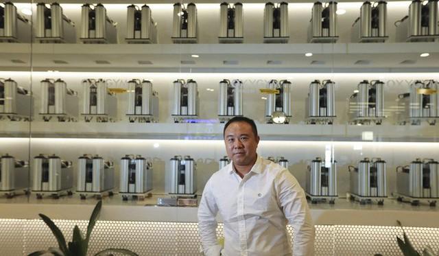 Phòng gym ở Trung Quốc phải lọc không khí và bơm thêm oxy để chống lại ô nhiễm - Ảnh 4.