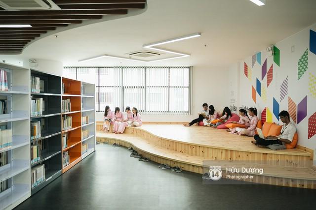 Thư viện các trường Đại học ở Việt Nam: Nơi sang chảnh 129 tỷ đồng, nơi đẹp đến mức đứng đâu cũng ra ảnh nghìn like - Ảnh 11.