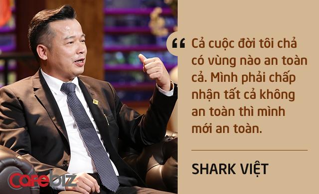 Những câu nói ấn tượng chưa từng xuất hiện trên sóng truyền hình của Shark Việt - vị cá mập khách mời nhưng cam kết rót tiền nhiều nhất Shark Tank - Ảnh 1.