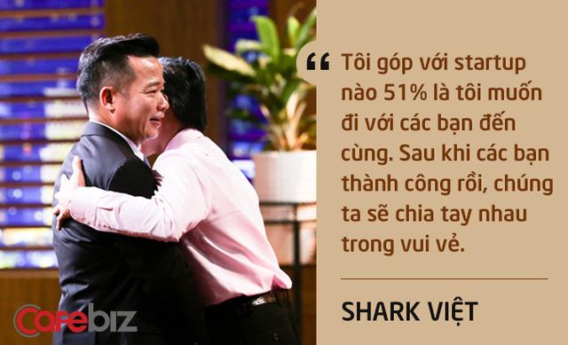Những câu nói ấn tượng chưa từng xuất hiện trên sóng truyền hình của Shark Việt - vị cá mập khách mời nhưng cam kết rót tiền nhiều nhất Shark Tank - Ảnh 2.