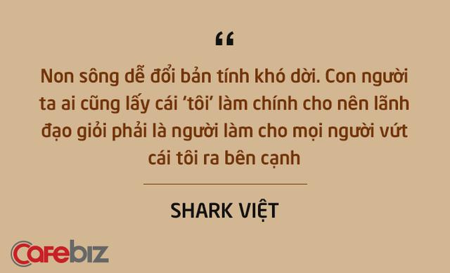 Những câu nói ấn tượng chưa từng xuất hiện trên sóng truyền hình của Shark Việt - vị cá mập khách mời nhưng cam kết rót tiền nhiều nhất Shark Tank - Ảnh 9.