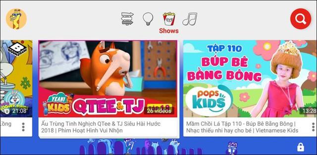 youtube kids - a 15402583646981505267520 - YouTube Kids dành cho trẻ em chính thức có mặt tại Việt Nam