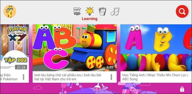 youtube kids - c 15402583813631753264276 - YouTube Kids dành cho trẻ em chính thức có mặt tại Việt Nam