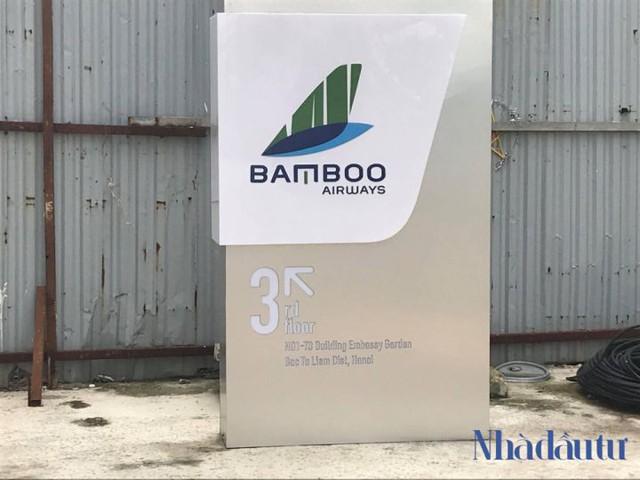 """bamboo airways - photo 3 15402918841971554757033 - """"Đột nhập"""" đại bản doanh hãng hàng không Bamboo Airways, gần đại sứ quán Hàn Quốc"""
