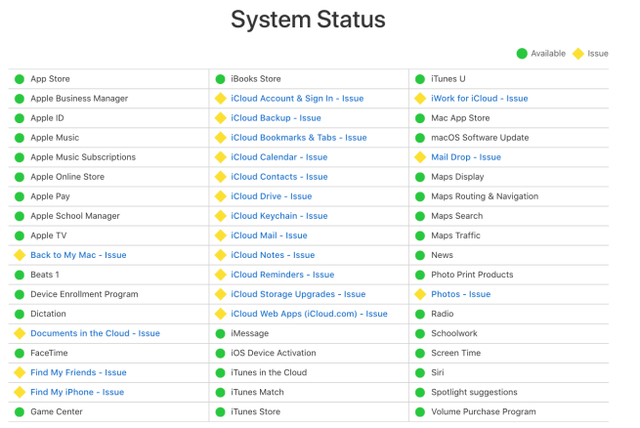 icloud-cua-apple-gap-su-co-ngung-hoat-dong - 1 154034448671256029111 - Dịch vụ iCloud của Apple gặp sự cố, ngừng hoạt động trên diện rộng