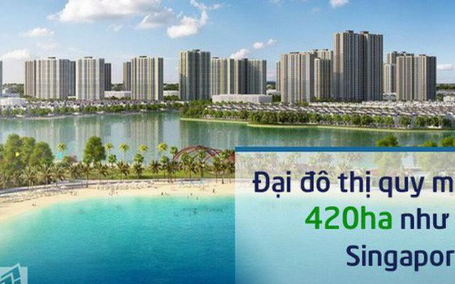 Lộ diện những hình ảnh đầu tiên, hình dung về một đại đô thị như ở Singapore tại VinCity Ocean Park như thế nào?