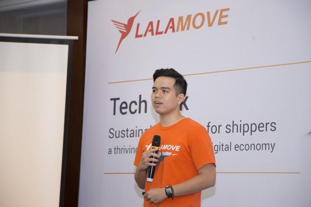 Trong ngày sắc cam phủ sóng tại Hà Nội, giám đốc Lalamove tuyên bố: Chúng tôi là công ty giao hàng nhanh nhưng sẽ không bao giờ vội vã trong chiến lược phát triển, không bao giờ lao vào cuộc chiến giành giật tài xế - Ảnh 1.