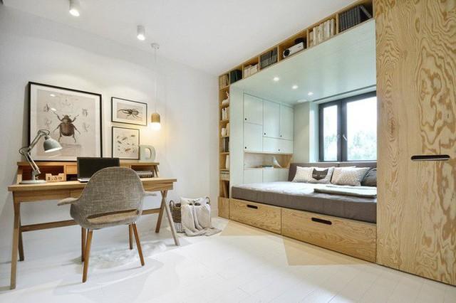 Với cách thiết kế thông minh, cô gái đã biến căn phòng 12m² đi thuê trở thành không gian sống vô cùng sang chảnh - Ảnh 1.