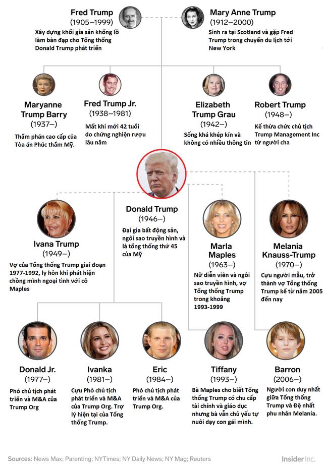 Gia đình Tổng thống Trump bị cáo buộc trốn thuế 550 triệu USD và ông không phải là tỷ phú tự thân như đã nói - Ảnh 2.