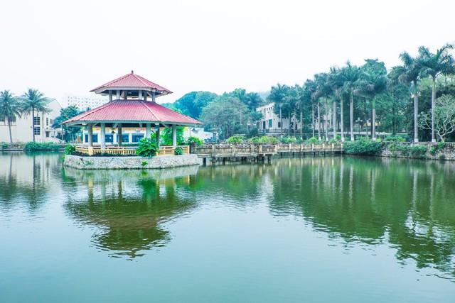 Đây là Đại học duy nhất ở Việt Nam có 1 khu rừng tuyệt đẹp ngay trong khuôn viên trường, tha hồ sống ảo - Ảnh 17.