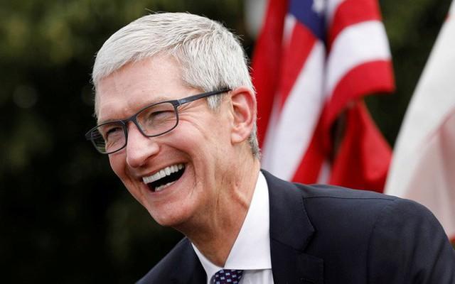 Cổ phiếu Apple tiếp tục đạt mức cao kỷ lục, giá trị vốn hóa chạm mốc 1,1 nghìn tỷ USD