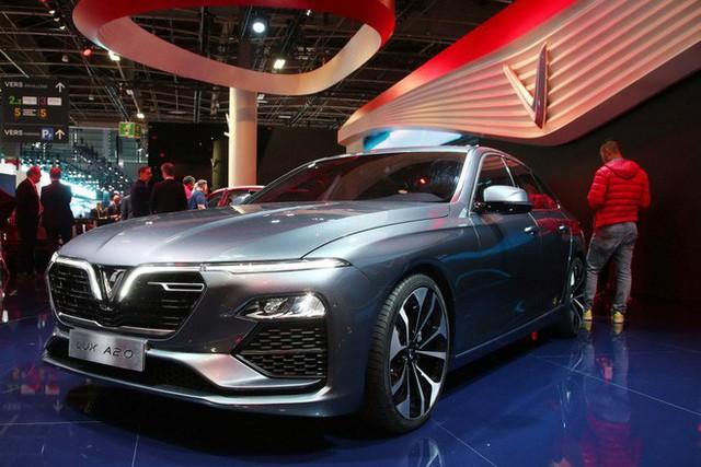 Vinfast - Paris Motor Show Dòng xe sử dụng chung động cơ có VinFast có giá bán bao nhiêu ở Việt Nam? - Ảnh 1.