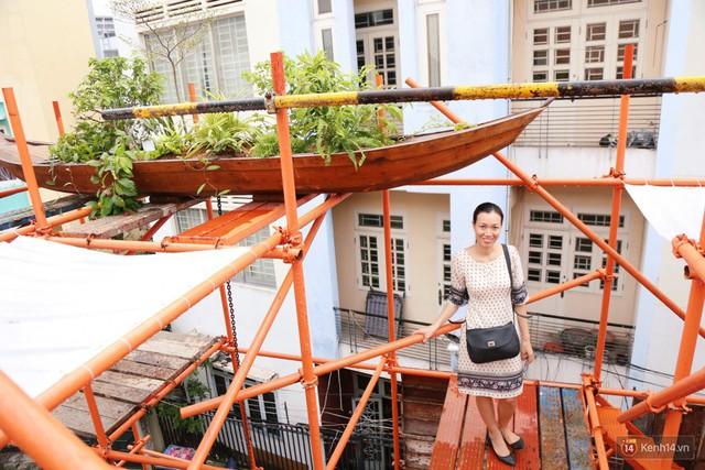 Kỳ lạ quán cafe như công trình đang xây dựng ở Sài Gòn: Đầu tư 2 tỷ, dự đoán tuổi thọ chỉ... 10 năm - Ảnh 13.